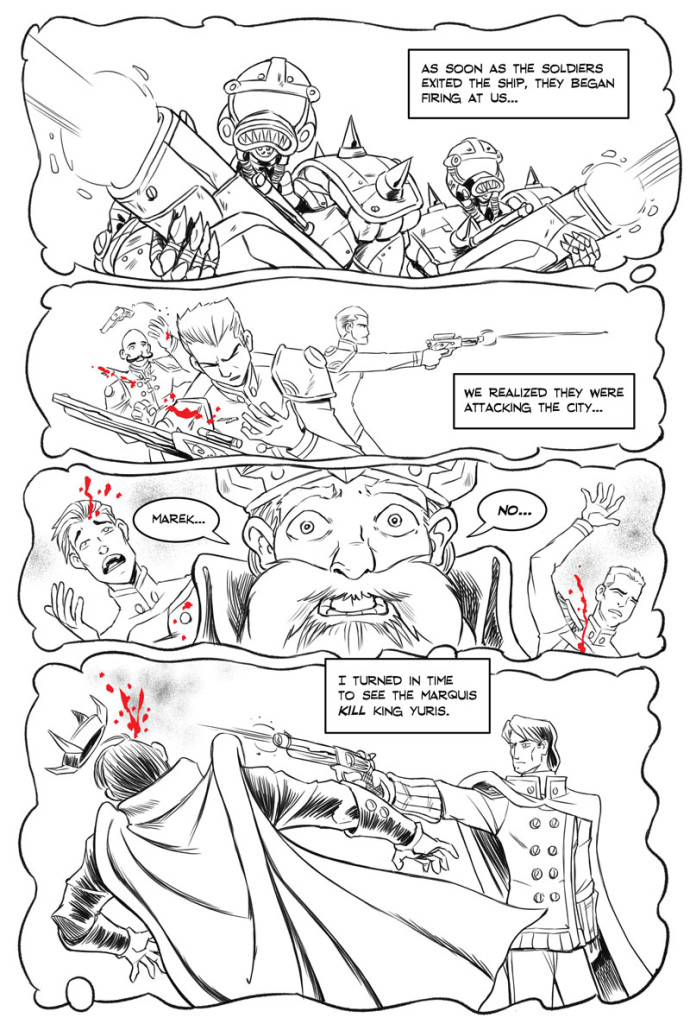 Webcomics, webcomics, webcomics! Fantasy webcomic. It's like Sin City.