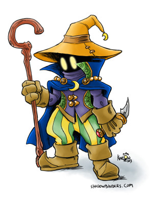 Black Mage from Final Fantasy. Not Vivi.