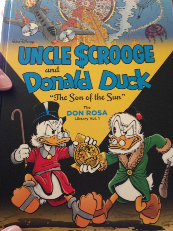 Don Rosa Uncle Scrooge Fantagraphics