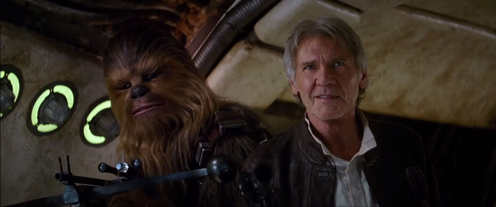 Chewie, we're home.