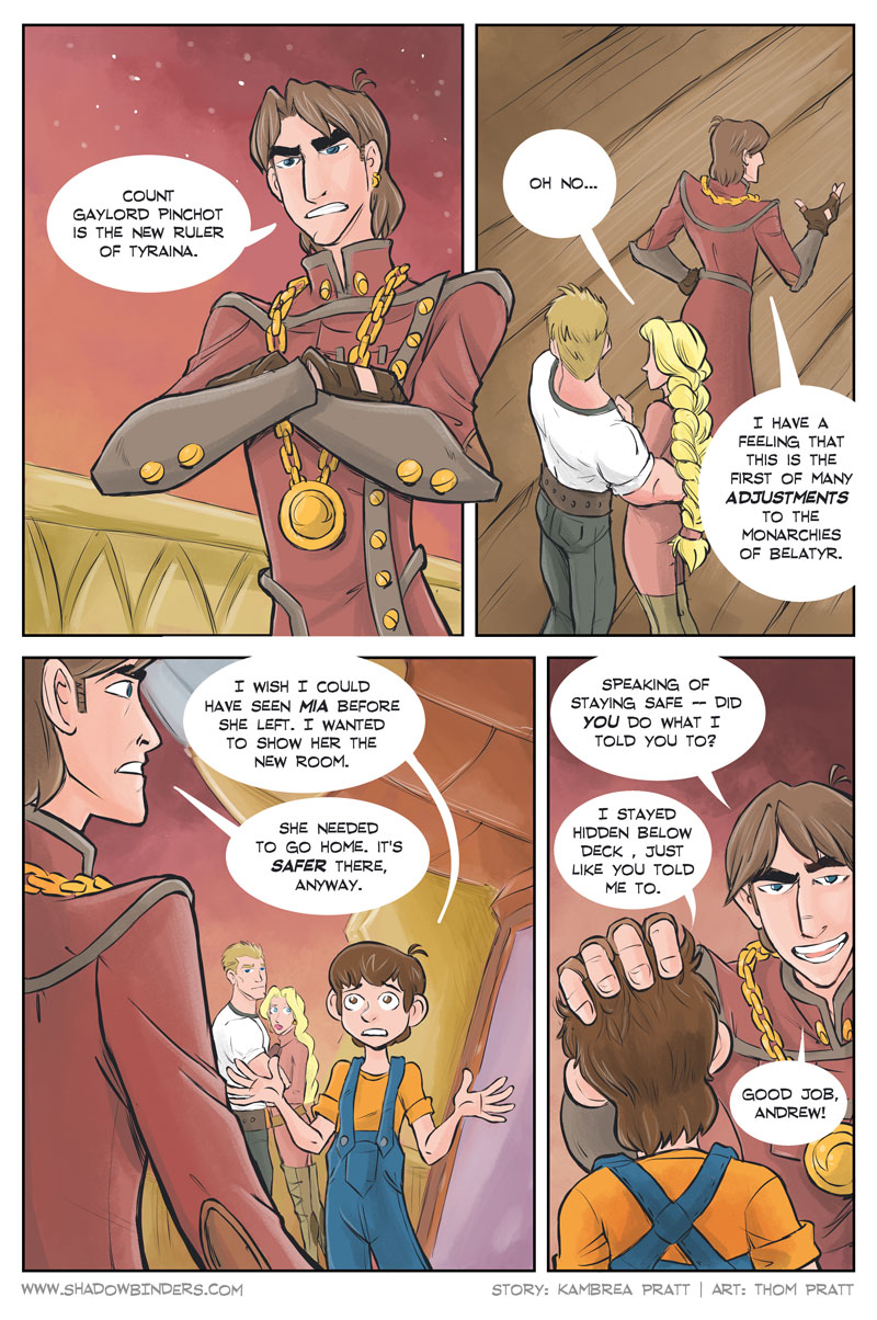 Shadowbinders #406 | Chapter 11, Page 22