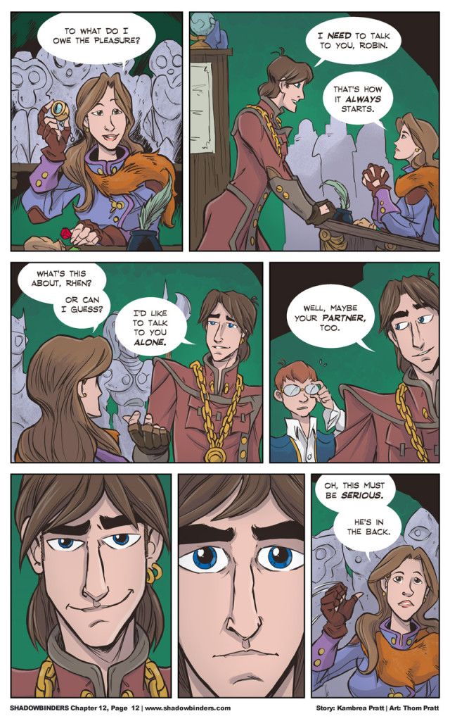 steampunk comic
