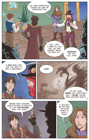 Shadowbinders webcomic | comics